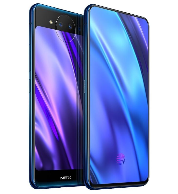 Vivo NEX Dual Display Edition front és hátoldaé